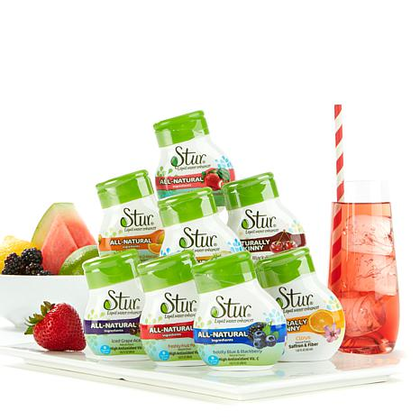 Stur All-Natural Water Enhancer Variety 8-pack AS