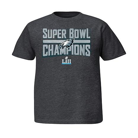 Super Bowl LII Champions Youth Sudden Impact Short-Sleeve Tee