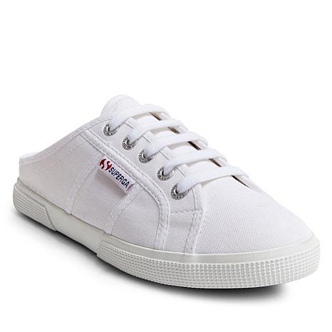 Superga Canvas Mule Lace-Up Sneaker