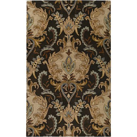 Surya Aurora 5u0027 X 8u0027 Transitional Area Rug   Gold