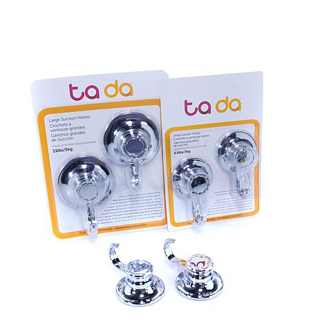 Ta Da 6-pack Vacuum Suction Hooks