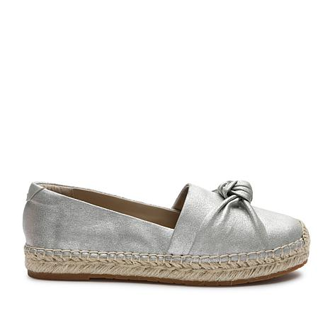Tahari Harper Leather Slip-On Espadrille