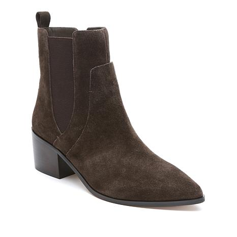 Tahari Resist Leather Block-Heel Boot