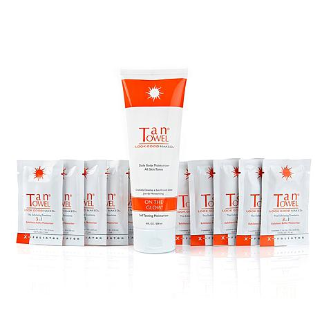 TanTowel® Prep and Extend Self-tanning Kit