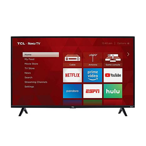 "TCL 3-Series 40"" Full HD Roku Smart TV w/HDMI Cable & 2-year warranty"
