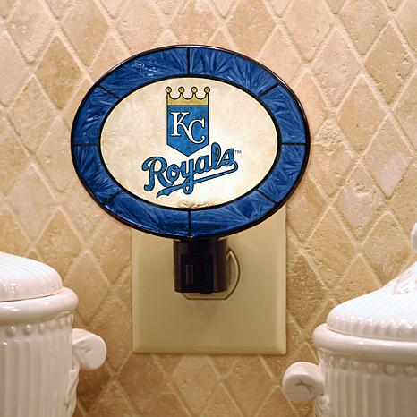 Team Glass Nightlight - Kansas City Royals