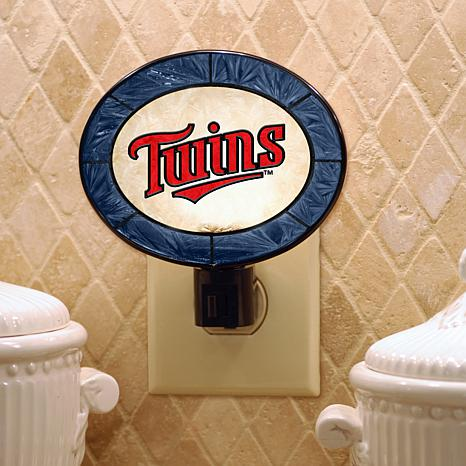 Team Glass Nightlight - Minnesota Twins