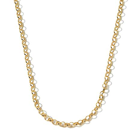 "Technibond® 18"" Rolo Link Chain Necklace"