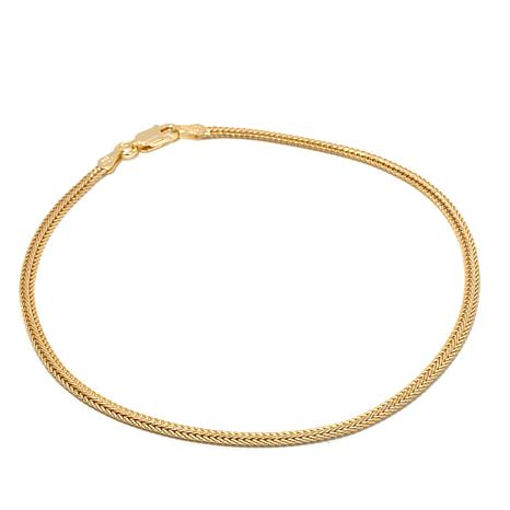 "Technibond® Imperial Foxtail Chain 9"" Anklet"