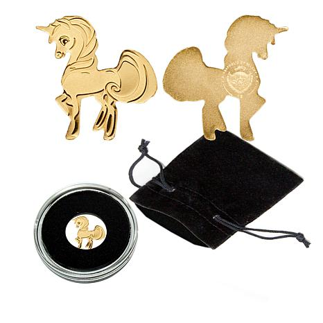 The Sweetest Unicorn 99.99% Gold Palau $1 Coin Limited Edition 15,000