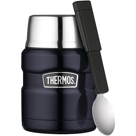 Thermos Stainless Vacuum-Insulated Jar with Spoon