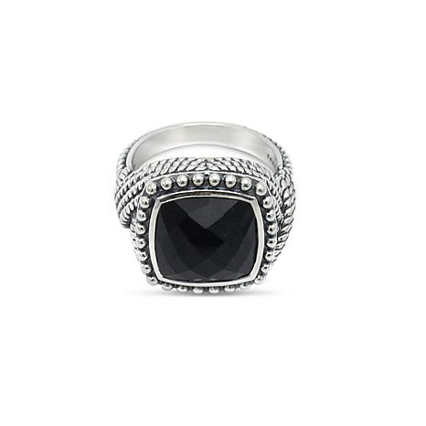 Tiffany Kay Studio Sterling Silver Onyx Cocktail Ring