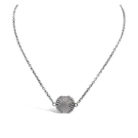 Tiffany Kay Studio Sterling Silver Rose Quartz Necklace
