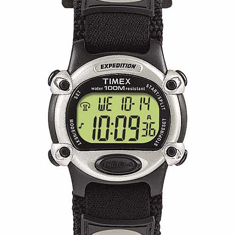 Timex Expedition Chronograph Hook-and-Loop Strap Watch