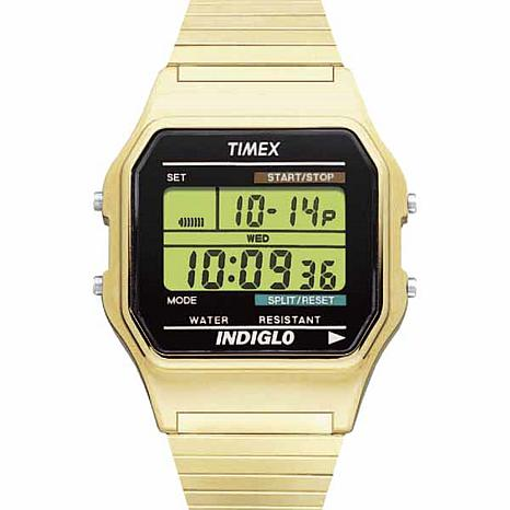 Timex Men's Goldtone Digital Chronograph Watch