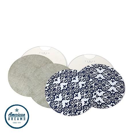 """Tinge Daily™ """"The Round"""" Place Mats"""
