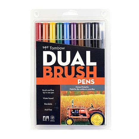 Tombow Dual-End 10-Pen Brush Set