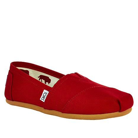 61a46b669ca TOMS Classic Canvas Slip On-Womens - 7964055