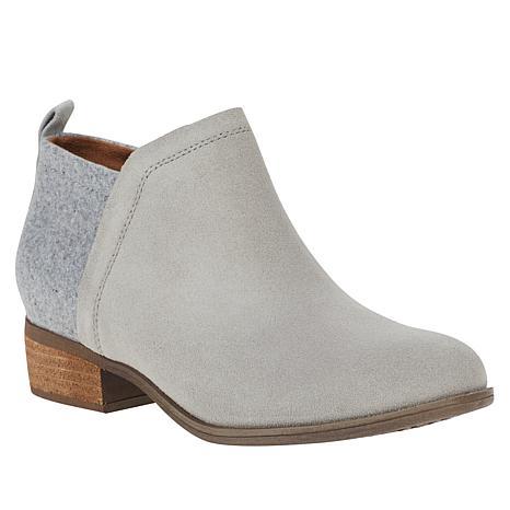 TOMS Deia Suede Ankle Bootie - 9691256