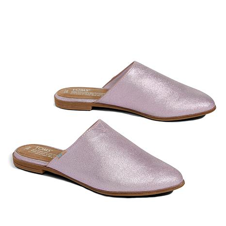 a51724f3b7df TOMS Jutti Metallic Leather Mule - 8792203