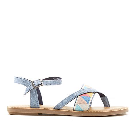 TOMS Lexie Canvas Thong Sandal