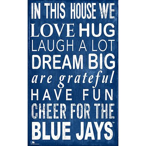 Toronto Blue Jays In This House Sign