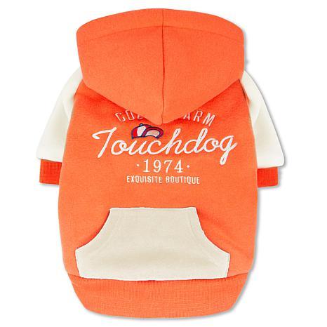 Touchdog Heritage Soft-Cotton Fashion Dog Hoodie