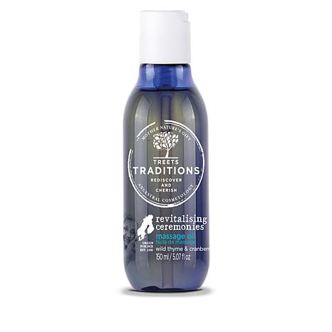 Treets Traditions Revitalizing Massage Oil