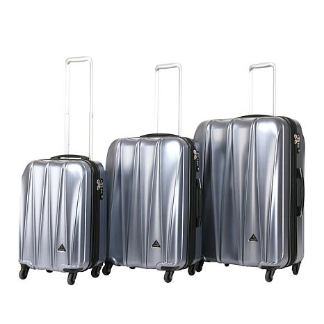 Triforce Trident 3pc Polycarbonate Spinner Luggage