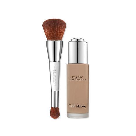 Trish McEvoy Even Skin® Water Foundation w/Brush Tan 2