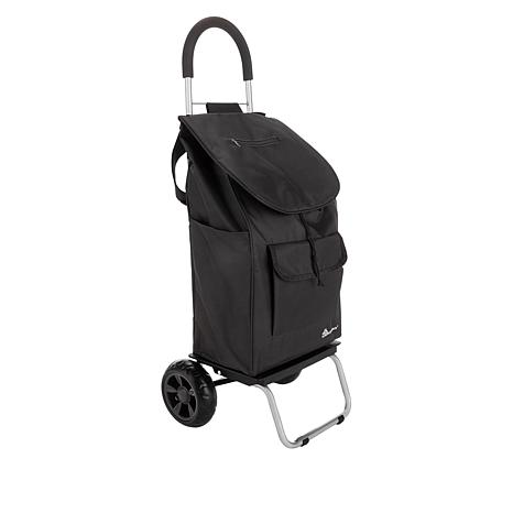 Trolley Dolly 2-in-1 Folding Cart and Dolly with Folding Handle