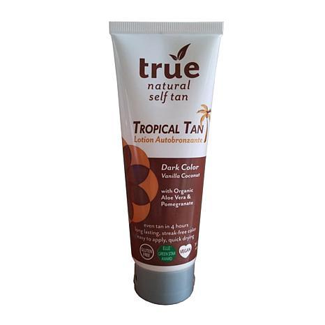 True Naturals Tropical Tan Organic Self Tanner Dark