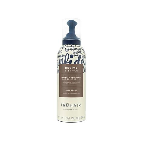 TRUHAIR Revive & Style Color Mousse - Dark Brown