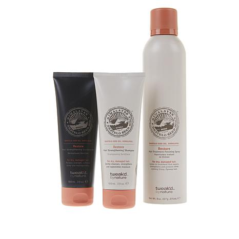Tweak-d Restorative Strengthening and Style 3-piece Set