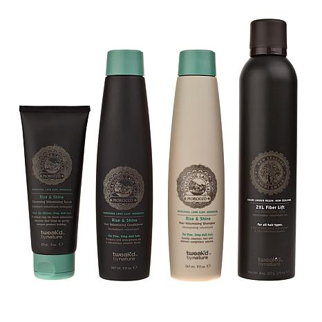 Tweak'd by Nature Rise and Shine 4-piece Volume Set