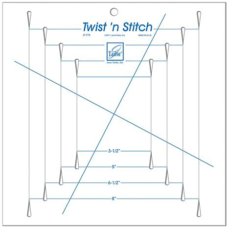 Twist 'n Stitch Ruler