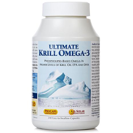 Ultimate Krill Omega-3 - 240 Capsules