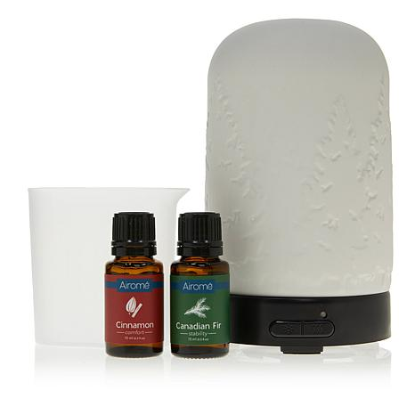 UnMatchedAirome Ultrasonic Northern Lights Diffuser w/2 Essential Oils