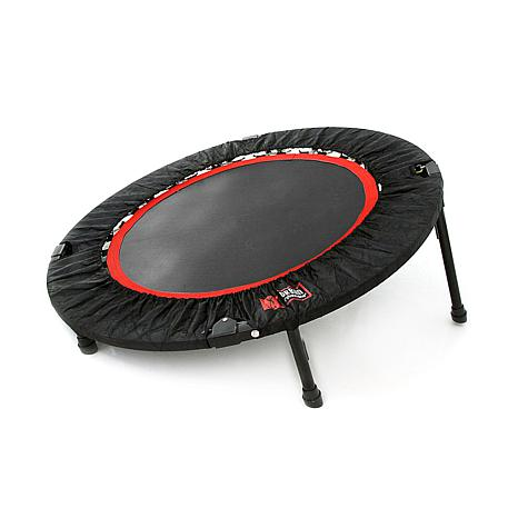 Urban Rebounder Elevated Trampoline with 23 Workouts