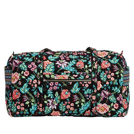 Vera Bradley Iconic Large Travel Duffel Bag