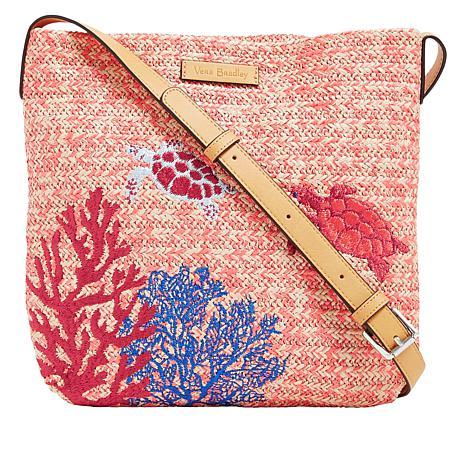 Vera Bradley Straw-Design Crossbody Bag - 8954015  6f63d074a7748