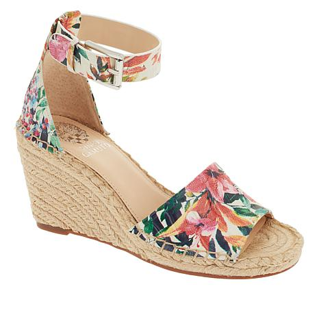 b956b64210067 Vince Camuto Leera Leather Espadrille Wedge Sandal - 8912260