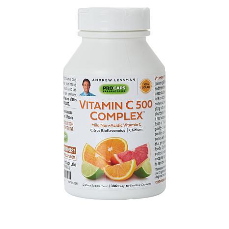 Vitamin C-500 Complex - 180 Capsules