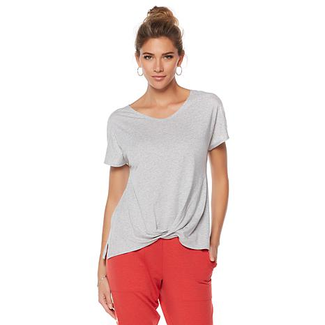 Warrior by Danica Patrick Lightweight Twisted-Hem Tee
