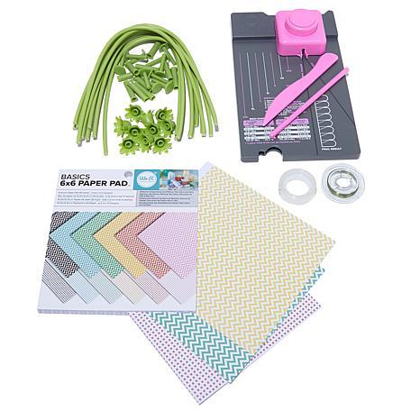 We R Memory Keepers Flower Punch Board Kit