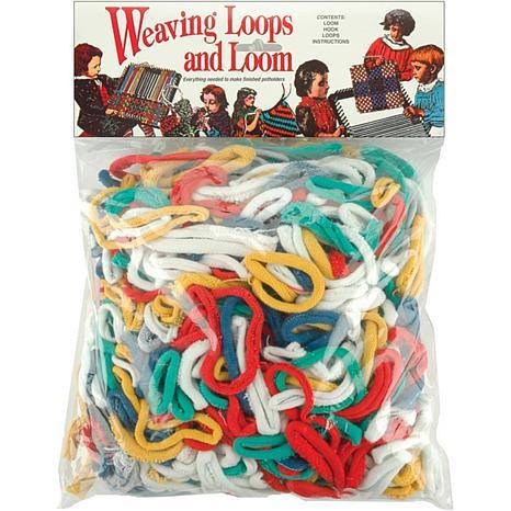 Weaving Loom and Loops Potholder Kit