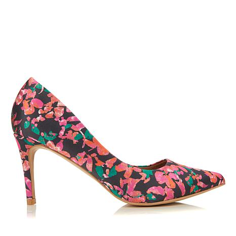 Wendy Williams Fabric or Suede Pump