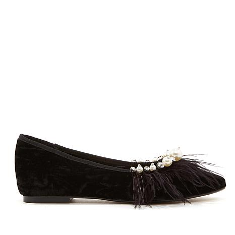 Wendy Williams Feather Wedge