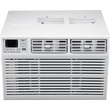 Whirlpool energy star 12 000 btu 115v window mounted air for 12000 btu window air conditioner energy star