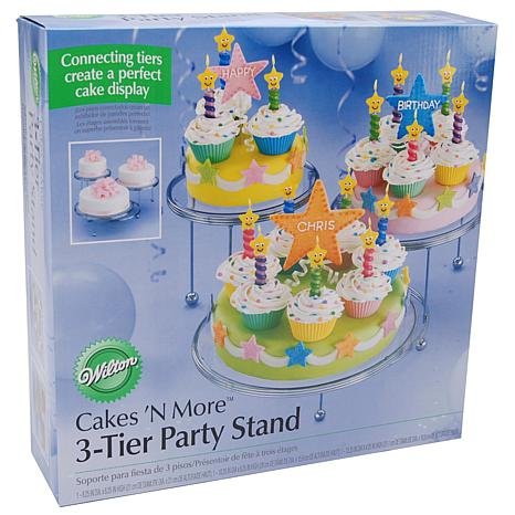 Wilton Cakes 'N More Party Stands